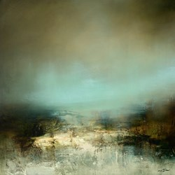 Avalonia by Neil Nelson - Original Painting on Box Canvas sized 32x32 inches. Available from Whitewall Galleries